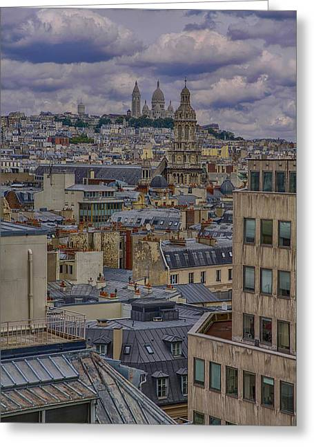 Montmartre Greeting Card