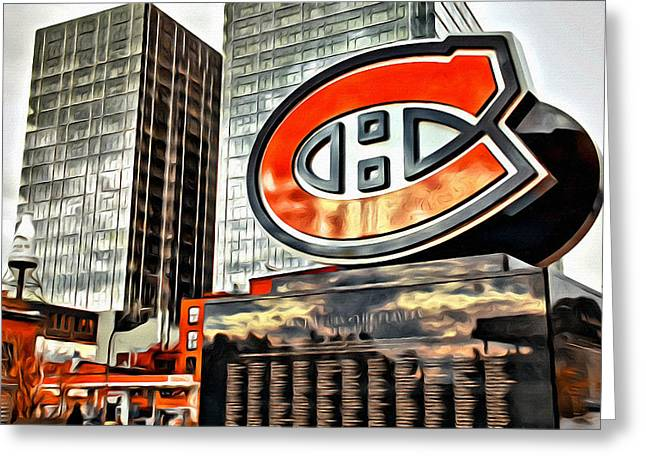 Montreal C Greeting Card by Alice Gipson