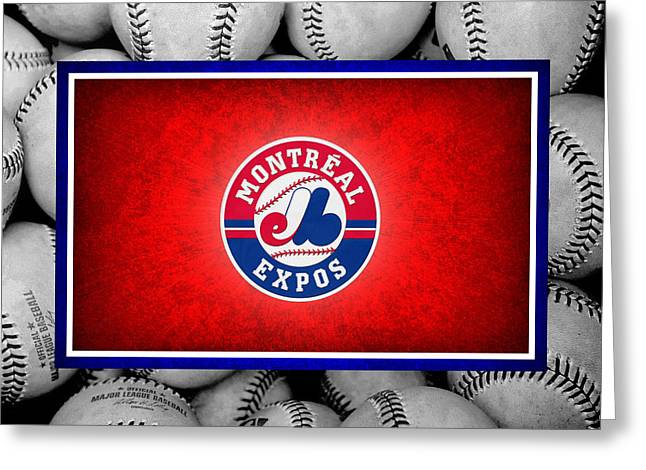 Montreal Expos Greeting Card