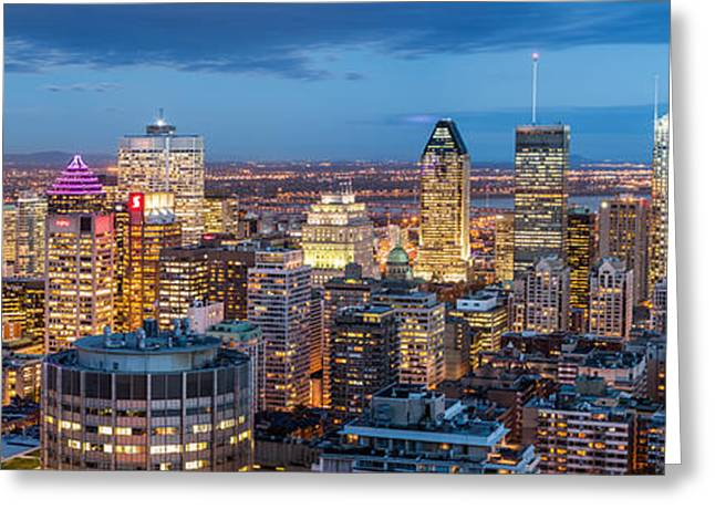 Montreal Panorama Greeting Card