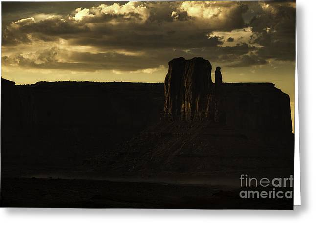 Monument Valley 3 Greeting Card by Richard Mason
