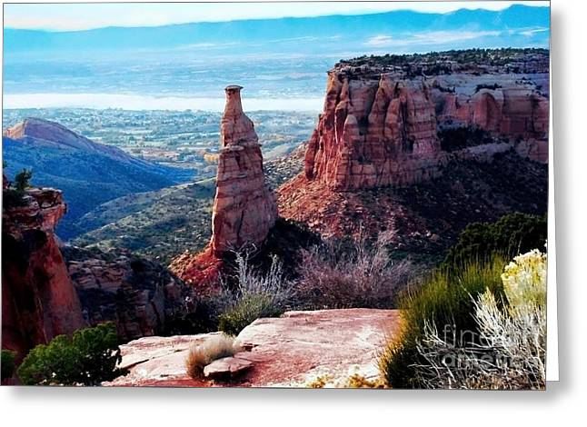 Monument Valley Colorado Greeting Card