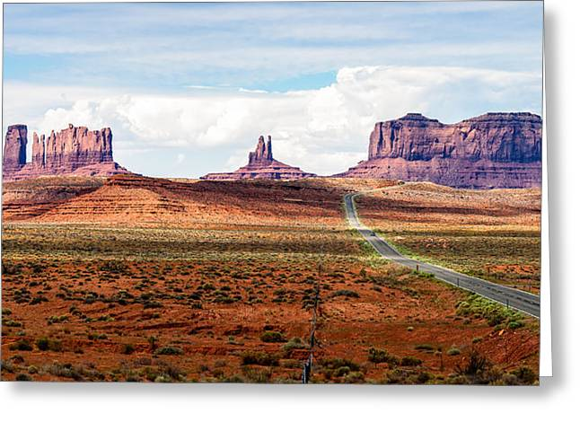 Monument Valley Greeting Card by John McArthur
