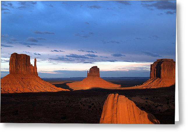 Monument Valley @ Sunset 2 Greeting Card
