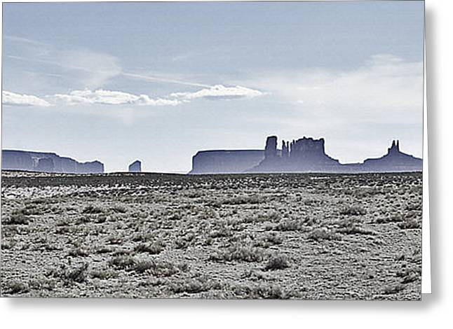 Monument Valley Vista 2 Greeting Card by Steve Ohlsen