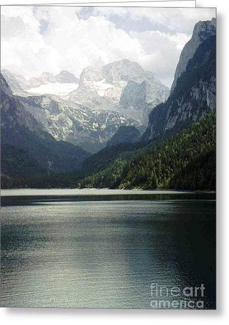 Moody Dachstein Greeting Card