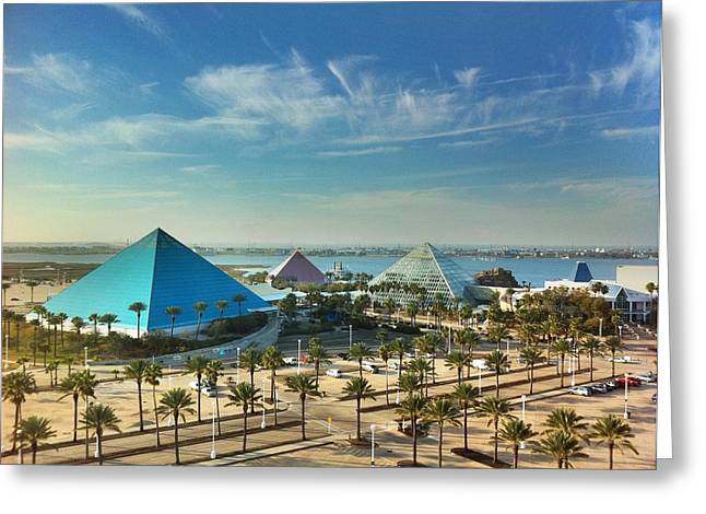 Moody Gardens In Galveston Greeting Card