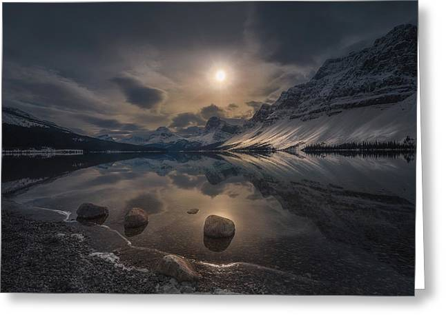Moody Lake Greeting Card