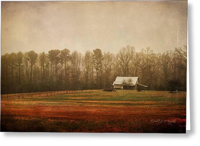 Moody Morning Stillness Greeting Card by Paulette B Wright