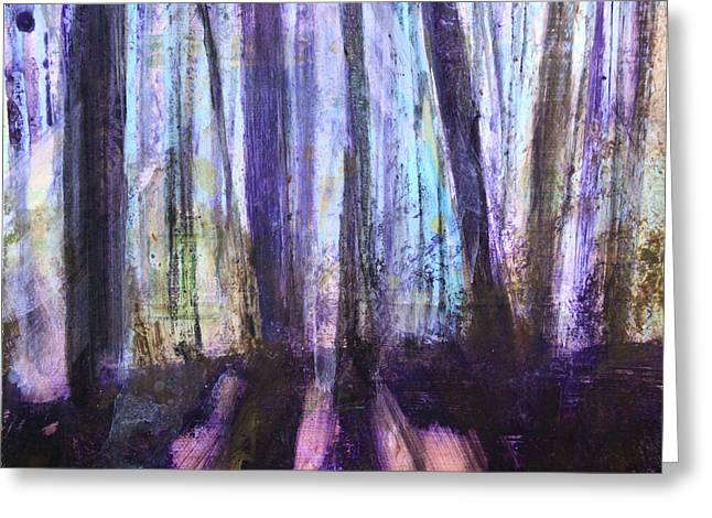 Moody Woods Greeting Card