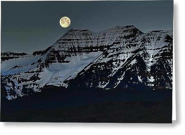 Moon Fall Greeting Card