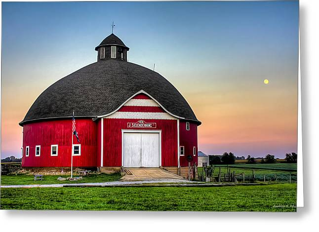 Moon Over Mulberry Greeting Card
