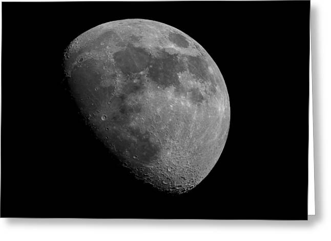 Greeting Card featuring the photograph Moon Phase by Dennis Bucklin