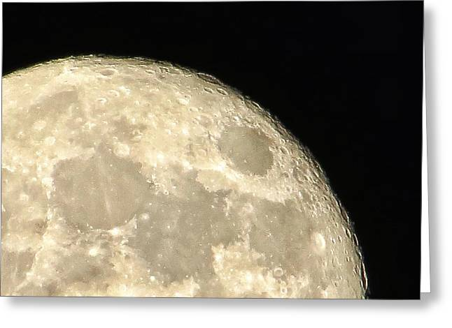 Moon Walk Greeting Card by Nikki Watson    McInnes