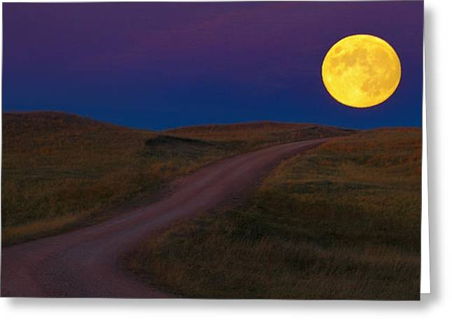 Moon Way Greeting Card