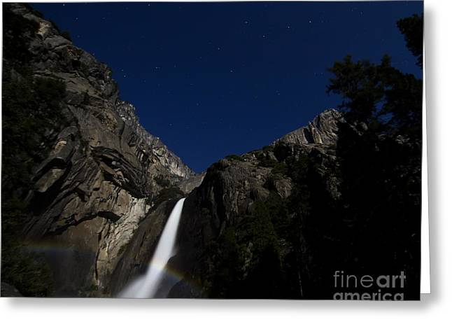 Moonbow And The Big Dipper Greeting Card