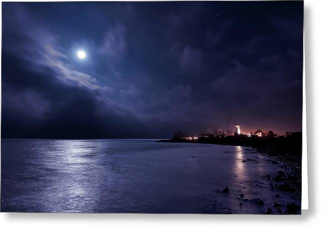 Moonlight Bay Greeting Card