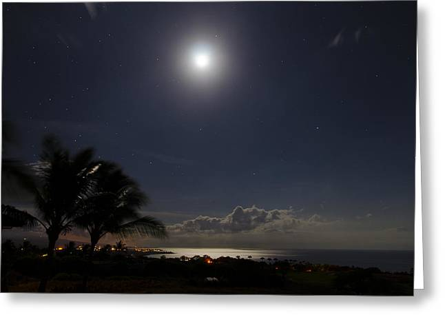Moonlit Bay Greeting Card