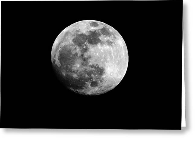 Greeting Card featuring the photograph Moonlit Dreams by Chris Fraser