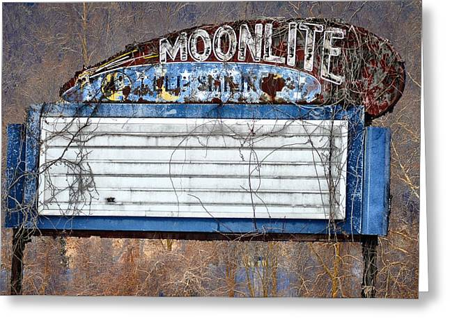 Moonlite Greeting Card by Bill Cannon