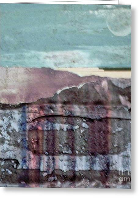 Moonrise Greeting Card by Patricia  Tierney
