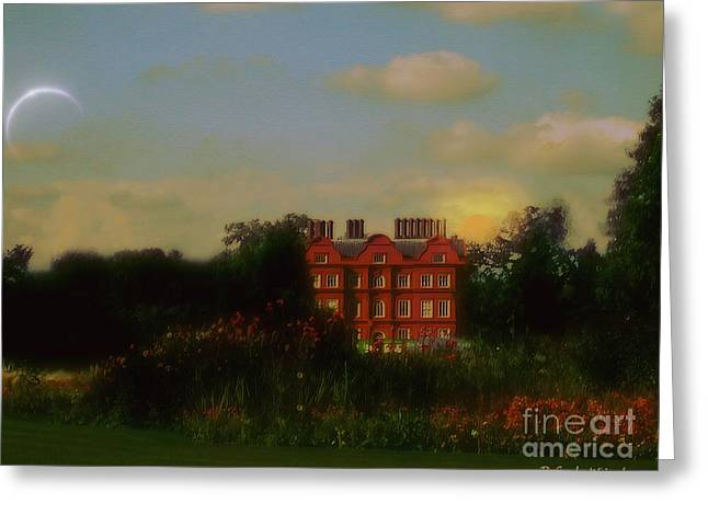 Moonrise - Sunset Greeting Card by RC DeWinter
