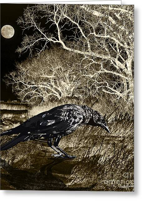 Moonshadow Greeting Card