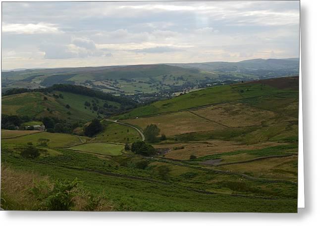 Moors Of England Greeting Card