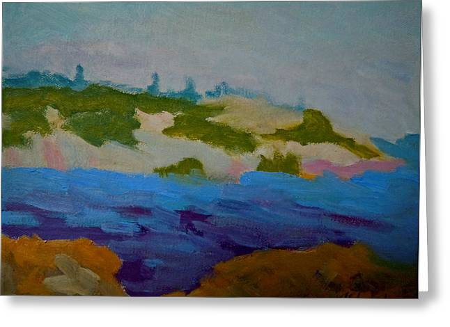 Moose Island - Schoodic Peninsula Greeting Card by Francine Frank