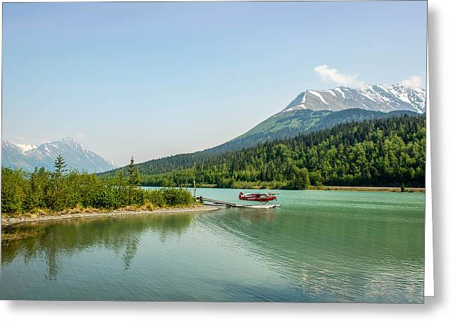 Moose Pass In Alaska Greeting Card