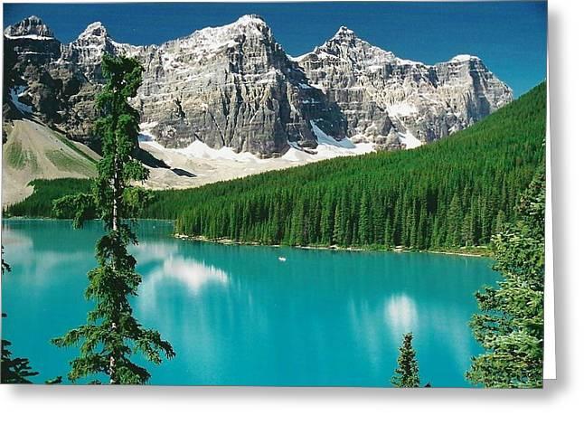 Moraine Lake 1 Greeting Card