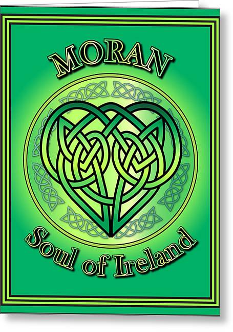 Moran Soul Of Ireland Greeting Card by Ireland Calling