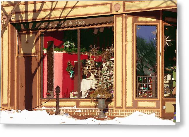 Moravian Book Shop Bethlehem Pa Greeting Card