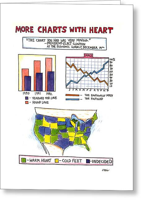 More Charts With Heart Greeting Card