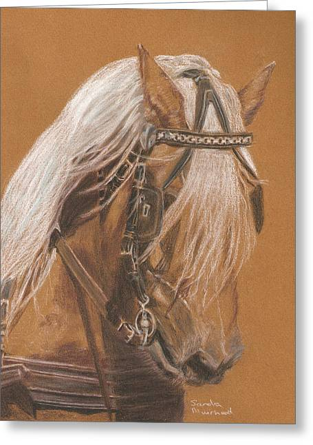 More From Fer A Cheval Greeting Card