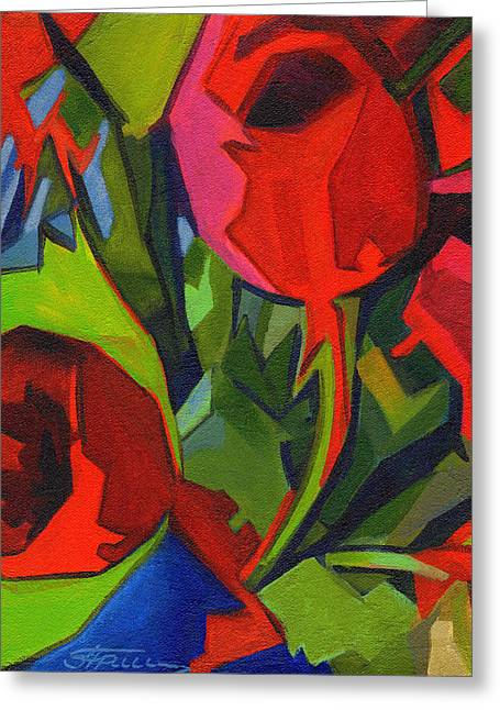 More Red Tulips  Greeting Card