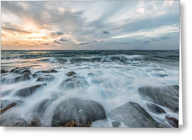 More Than A Sunrise Greeting Card by Jon Glaser
