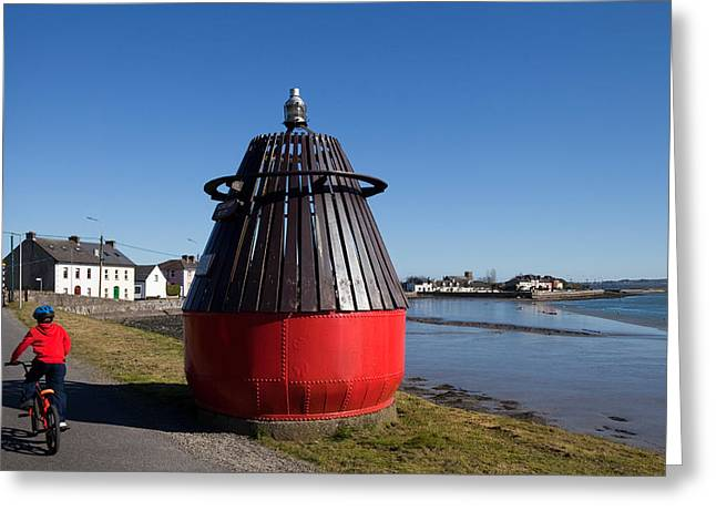 Moresby Memorial Bouy , County Greeting Card by Panoramic Images