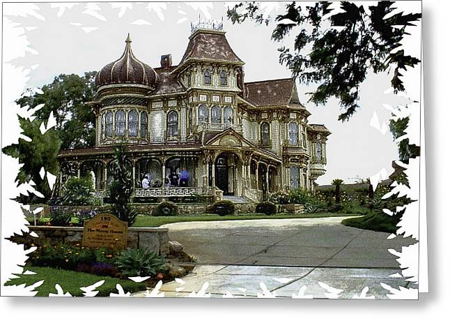 Morley Mansion Greeting Card