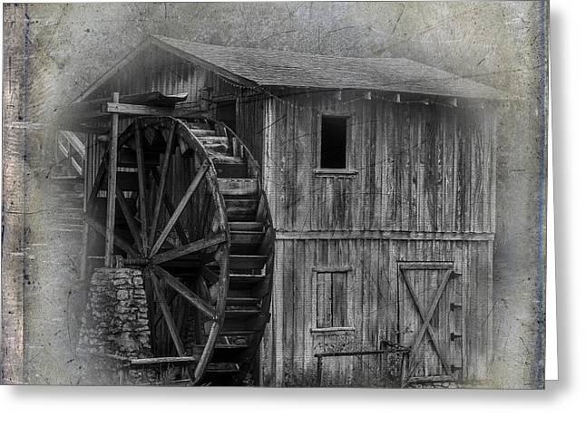 Morgan's Mill Greeting Card by Paul Freidlund