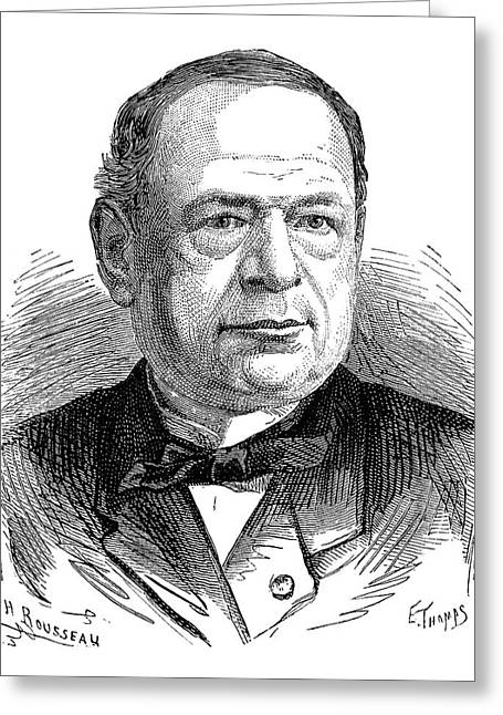 Moritz Von Jacobi Greeting Card