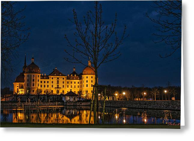 Greeting Card featuring the photograph Moritzburg Castle by Robert Culver