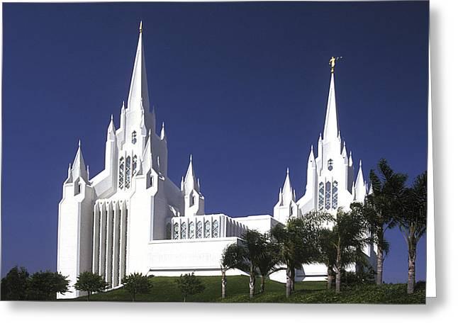 Mormon Temple Greeting Card