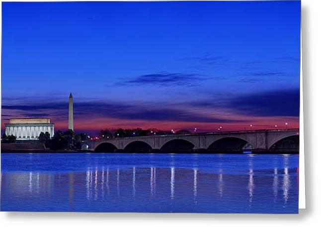 Morning Along The Potomac Greeting Card