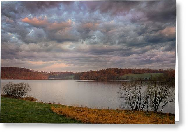 Morning At Marsh Creek State Park Greeting Card
