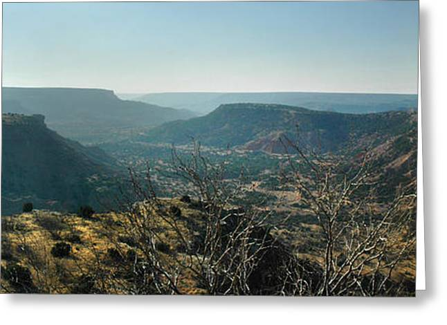 Greeting Card featuring the photograph Morning At Palo Duro by Rod Seel