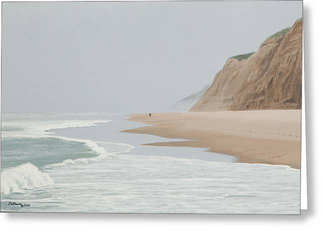 Morning At Pomponio 2 Greeting Card