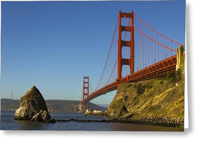 Morning At The Golden Gate Greeting Card