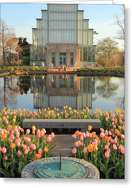 Morning At The Jewel Box Greeting Card by Scott Rackers