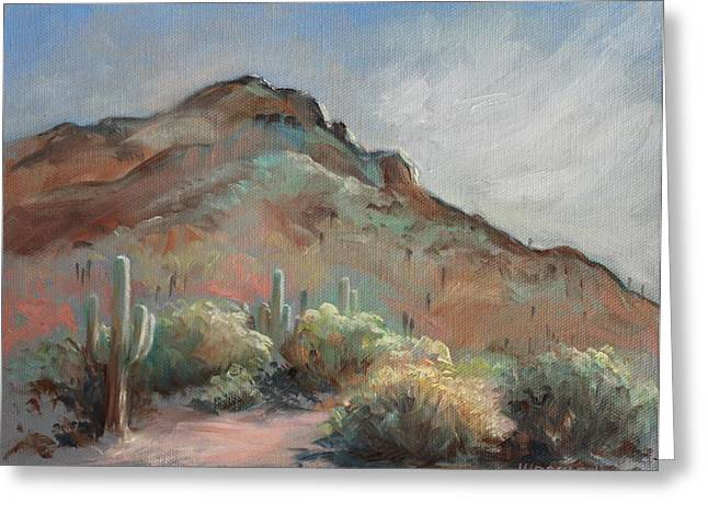 Morning At Usery Mountain Park Greeting Card